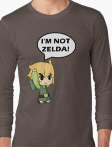 I'm Not Zelda Long Sleeve T-Shirt