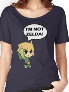 I'm Not Zelda Women's Relaxed Fit T-Shirt