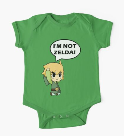 I'm Not Zelda One Piece - Short Sleeve