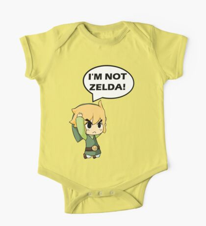 I'm Not Zelda One Piece - Short Sleeve
