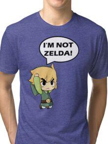 I'm Not Zelda Tri-blend T-Shirt