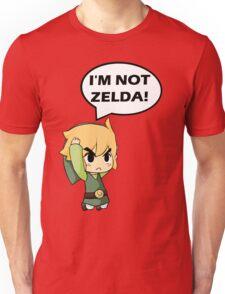I'm Not Zelda Unisex T-Shirt
