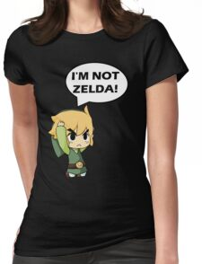 I'm Not Zelda Womens Fitted T-Shirt