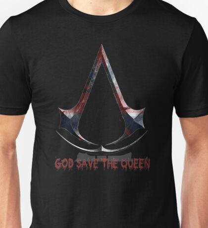 God Save The Queen Assassins Unisex T-Shirt