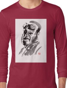 hellboy Long Sleeve T-Shirt
