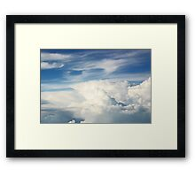 Anvil Cloud Framed Print