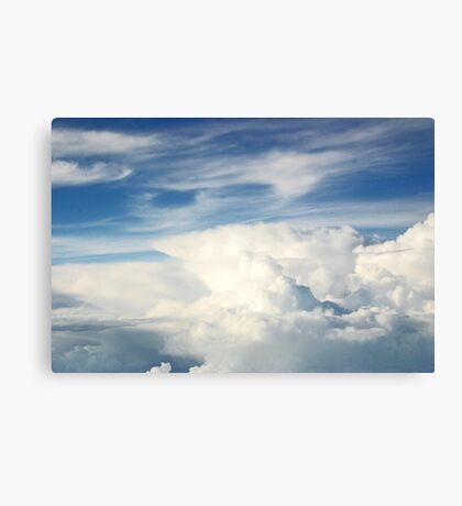 Anvil Cloud Canvas Print