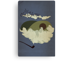 The Shire Vintage Travel Poster Canvas Print