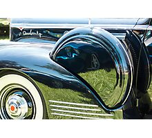 Packard with Reflections Photographic Print