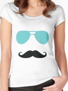 Aviators and Tash Women's Fitted Scoop T-Shirt