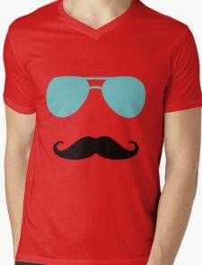 Aviators and Tash Mens V-Neck T-Shirt