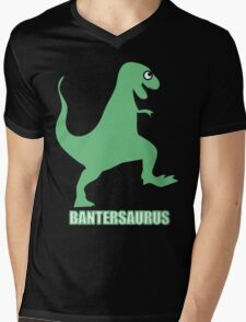 Bantersaurus Mens V-Neck T-Shirt