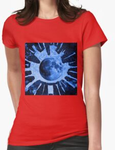 BLUE MOON STONEHENGE Womens Fitted T-Shirt