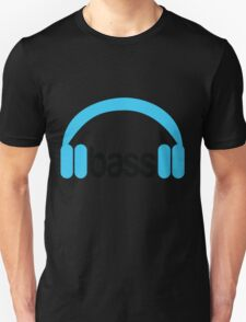Bass Headphones Unisex T-Shirt
