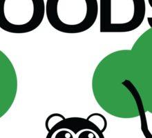 Do bears sit in the woods? Sticker