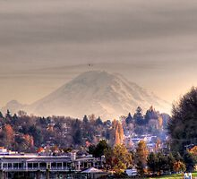Rainier Autumn by Sue Morgan