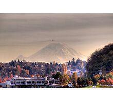 Rainier Autumn Photographic Print