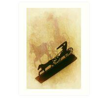 The Wagon Art Print