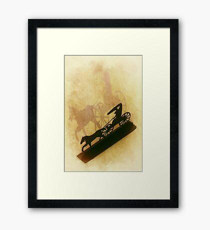 The Wagon Framed Print