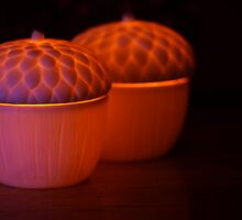 Candles Glowing by Heather Haderly