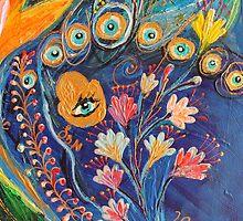 Original painting fragment 79 by Elena Kotliarker