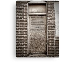 Door Of The Thin Man Canvas Print