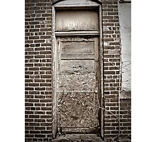 Door Of The Thin Man Photographic Print