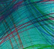 colour lines Sticker