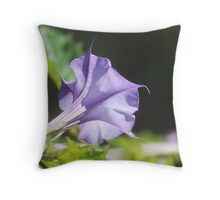 Jimson Weed Throw Pillow