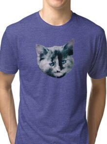Cute Kitten Tri-blend T-Shirt
