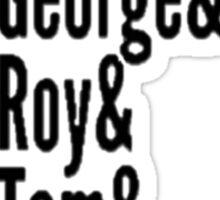 The Travelling Wilburys Sticker