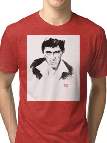tony montana Tri-blend T-Shirt