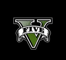 GTA V Logo by Rob DelZotto
