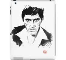 tony montana iPad Case/Skin