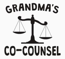 Grandma's Co-Counsel One Piece - Short Sleeve