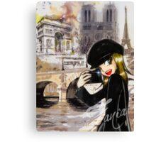 Paris my Way Canvas Print