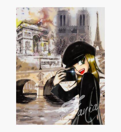 Paris my Way Photographic Print