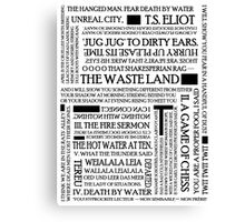 The Waste Land Canvas Print