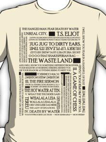 The Waste Land T-Shirt