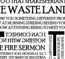 The Waste Land Sticker