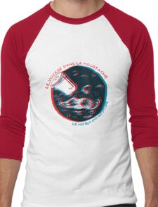 Voyage dans la Moustache Men's Baseball ¾ T-Shirt