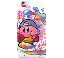 Kirby is a true artist iPhone Case/Skin