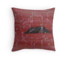 """""""Blood, sweat and tears"""" Throw Pillow"""