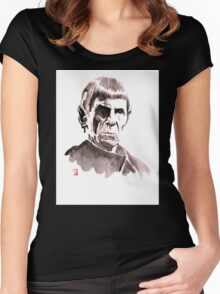 spock Women's Fitted Scoop T-Shirt