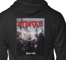 Attack - Long Way Across The City  Zipped Hoodie
