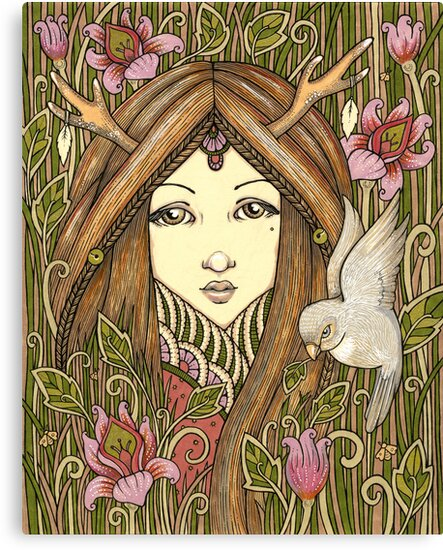 Natures Child by Anita Inverarity