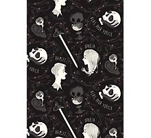 Shakespearean pattern - Hamlet Photographic Print