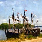 The Pinta at Sunrise by RC deWinter
