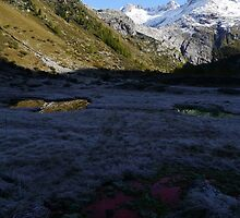 SRB and where the Rhone Glacier used to be by Nano Trace Technologies