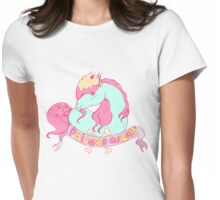 Poisoned Cupcake Womens Fitted T-Shirt